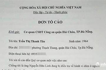 Vợ bị can Nguyễn Hữu Linh tố cáo bị làm nhục, đề nghị Công an xử lý