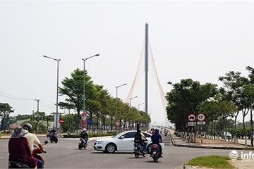 Đà Nẵng: Phân luồng giao thông thi công cụm nút phía Tây cầu Trần Thị Lý