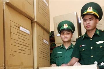 Biên phòng Đà Nẵng phát hiện hơn 200.000 khẩu trang 4 lớp không nhãn mác