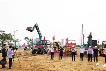 """Đà Nẵng: Lễ khởi công """"siêu tiết kiệm"""" cho dự án giao thông hơn 720 tỉ đồng"""