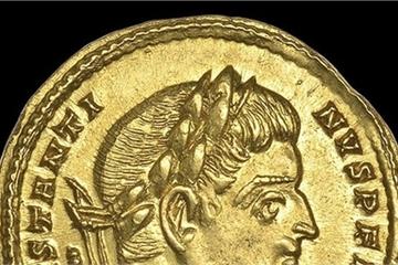 Đi dò kim loại, tìm thấy đồng tiền vàng hơn nửa tỷ