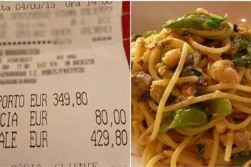 Thử 1 lạng, khách Việt bị nhà hàng ép trả tiền gần 5 kg hải sản