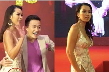 Sự cố váy áo của người đẹp Việt 2019 người lộ ngực, người mặc như không