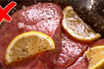 10 sai lầm khi nấu ăn gây nguy hiểm cho sức khỏe