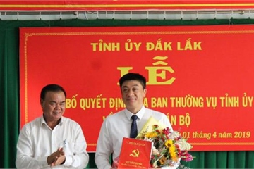 TP.Buôn Ma Thuột có tân Bí thư Thành ủy