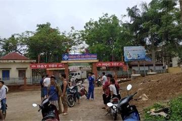Thanh Hóa: Nam thanh niên lạ mặt xông vào trường học đâm nhiều người thương vong