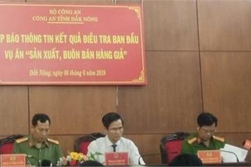 Công an Đắk Nông thông tin về vụ sản xuất xăng giả của đại gia Trịnh Sướng