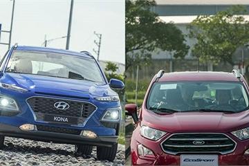 Hyundai Kona vs Ford EcoSport: Ganh đua quyết liệt