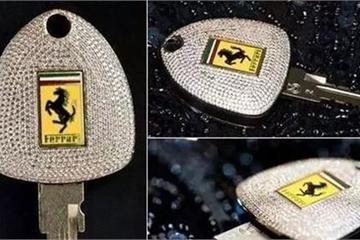 Những chiếc chìa khóa ô tô nghìn USD đắt đỏ nhất thế giới