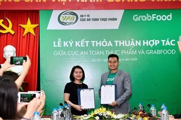 """Grab Việt Nam """"bắt tay"""" với Bộ Y tế, tuyên truyền vệ sinh an toàn thực phẩm thông qua GrabFood"""
