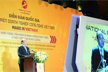 """Thủ tướng: Doanh nghiệp công nghệ là hạt nhân để Việt Nam thực hiện khát vọng """"hóa rồng"""""""