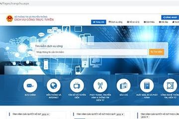Quý IV/2019, Bộ TT&TT sẽ thiết lập xong Cổng dịch vụ công, hệ thống một cửa tập trung