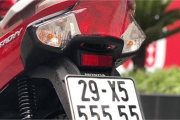 """Honda Vision """"lướt"""" bán giá gần 200 triệu đồng nhờ biển ngũ quý 5"""