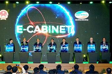 Chính phủ sắp họp trực tuyến với các địa phương qua hệ thống E-Cabinet