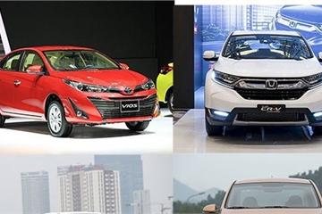 Top 10 xe bán chạy nhất Việt Nam trong tháng 6