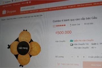 Shopee có thể bị phạt nửa tỷ đồng nếu còn cho bán 'bánh cần sa'