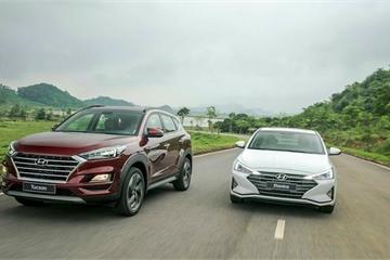 Hyundai Accent và Tucson đắt khách dịp Tết
