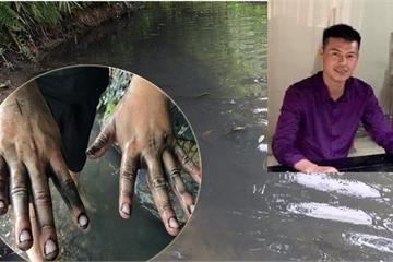 Đối tượng 'chủ mưu' đổ dầu thải gây 'cuộc khủng hoảng' nước sạch Sông Đà ra đầu thú