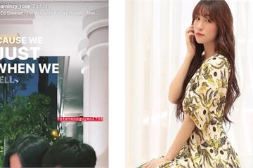 Hòa Minzy chia sẻ ảnh bên bạn trai, gián tiếp phủ nhận tin đồn đã sinh con?