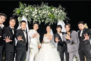 Toki hội ngộ nhóm Uni5 ở đám cưới của Đông Nhi và Ông Cao Thắng