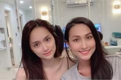 Hương Giang đọ mặt mộc với Hoài Sa, chúc chiến thắng Hoa hậu Chuyển giới Quốc tế