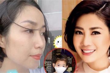 Ốc Thanh Vân cắt tóc ngắn thực hiện đúng hẹn ước với cố diễn viên Mai Phương