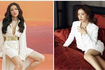 """Chi Pu và Hoàng Thùy Linh """"đọ sắc"""" qua bộ ảnh váy trắng đỉnh cao quyến rũ"""