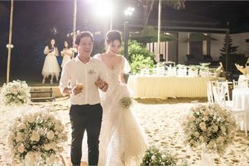 Hé lộ những hình ảnh xúc động trong lễ đính hôn của Trường Giang và Nhã Phương