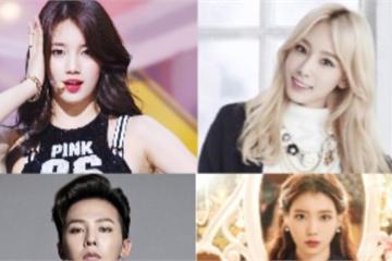 Tiết lộ 'bất ngờ' của các thần tượng Kpop Taeyeon SNSD, G-Dragon, IU, Suzy
