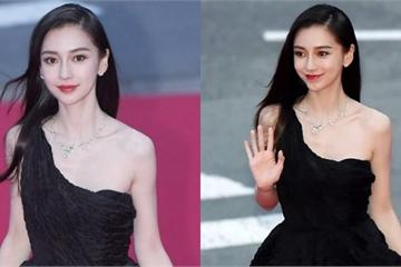 """Angela Baby như """"tiên giáng trần"""" tại thảm đỏ Liên hoan phim Busan"""