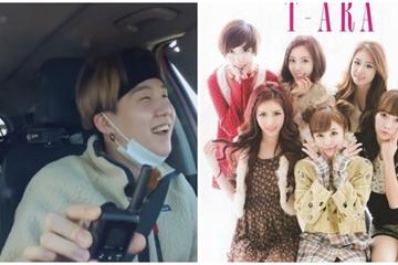 """BTS phấn khích hát lại """"Time to Love"""" của đàn chị T-ara trong Bon Voyage mùa 4"""