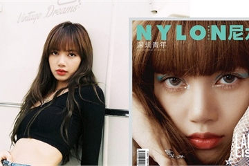 Lisa Blackpink khoe chân dài miên man trên trang bìa tạp chí Trung Quốc