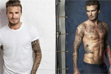 David Beckham, Ariana Grande 'cay đắng' khi hình xăm thành thảm họa vì lý do bất ngờ