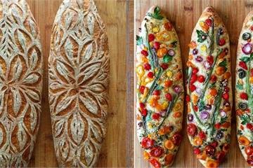 Sáng tạo biến bánh mỳ thành những tác phẩm nghệ thuật độc đáo có một không hai