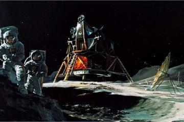 Apollo 13 trông sẽ như thế nào nếu hạ cánh thành công trên Mặt Trăng?