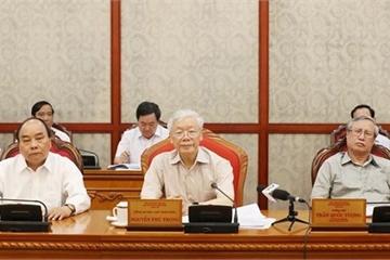Khai mạc Hội nghị Trung ương 10 khóa XII tại Hà Nội