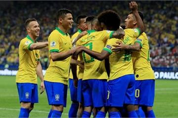 Brazil 4 - 3 Paraguay: Những vũ công chật vật vào bán kết sau loạt đấu súng