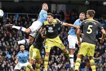 Man City 3-1 Southampton: Aguero đưa nhà ĐKVĐ vào tứ kết cúp Liên đoàn