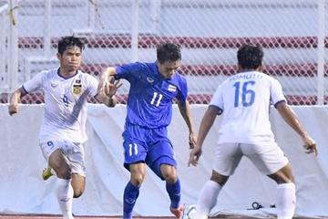 U22 Thái Lan thắng U22 Lào phút 90, chờ quyết đấu U22 Việt Nam