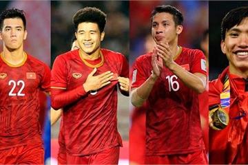 """Cặp tiền đạo """"song sát"""" Tiến Linh, Đức Chinh có tên trong đội hình tiêu biểu SEA Games 30"""