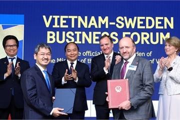 Thủ tướng Nguyễn Xuân Phúc mời gọi Thụy Điển đầu tư vào Việt Nam