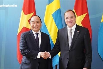 Thủ tướng Nguyễn Xuân Phúc kết thúc tốt đẹp chuyến thăm chính thức tới Thụy Điển