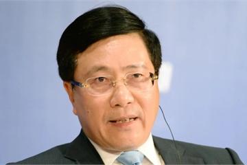 Phó Thủ tướng Phạm Bình Minh nói về tác động của chiến tranh thương mại tới Việt Nam