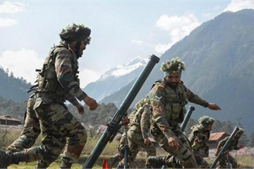 Quân đội Ấn Độ rầm rộ tập trận dài 1 tháng gần biên giới Trung Quốc