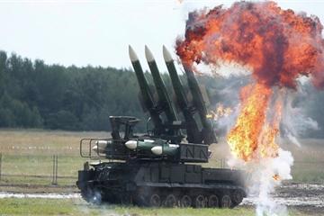 """Dàn tên lửa Nga """"đua nhau"""" bắn hạ UAV Anh – Mỹ ở Ai Cập"""