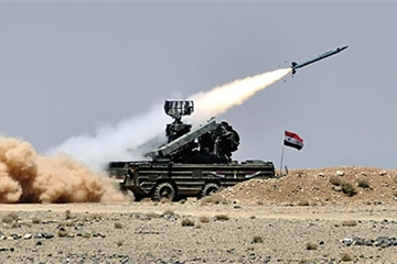"""Hệ thống phòng không Syria bắn hạ UAV """"lạ"""", Idlib thiết lập lệnh ngừng bắn"""
