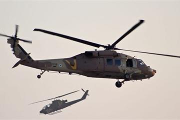 Israel điều cả trực thăng và UAV tấn công, quân đội Syria bất ngờ hứng thương vong