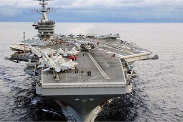 Siêu tàu sân bay USS Theodore Roosevelt tới Đà Nẵng, quan hệ Việt – Mỹ nâng tầm