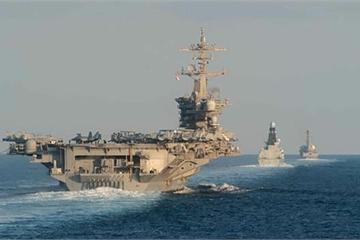 Mỹ lần đầu để 2 tàu sân bay ở Trung Đông, chưa kích hoạt tên lửa Patriot