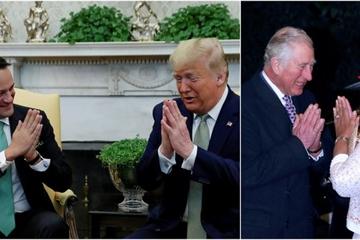 Ông Trump lăng xê kiểu chào truyền thống Ấn Độ giữa lúc dịch Covid-19 lây lan nhanh